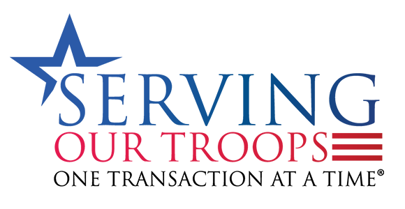 Serving our troops one transaction at a time